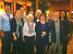 PA-AIMH Founding members dinner October, 2011
